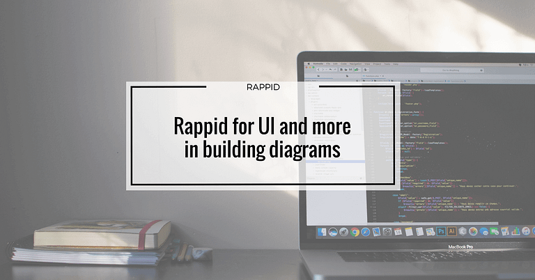Rappid for UI and more in building diagrams