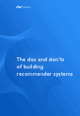 The dos and don'ts of building recommender systems