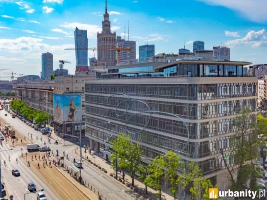 Warsaw center, WeWork building
