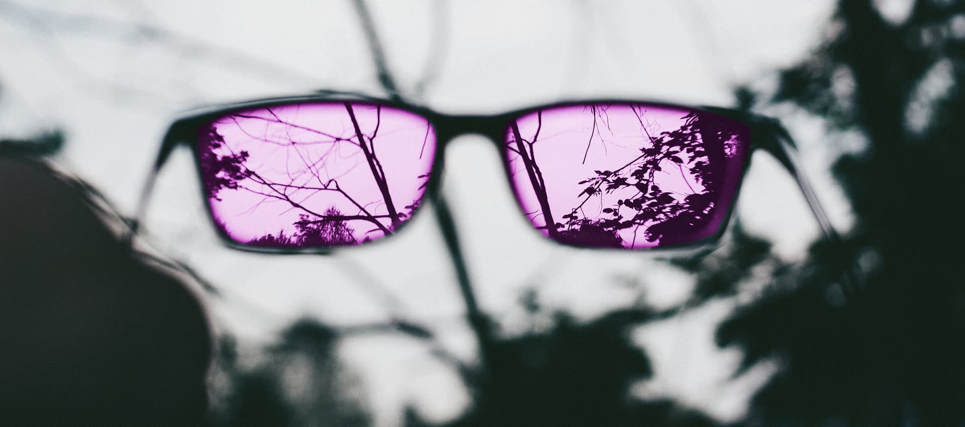 Take off the pink glasses