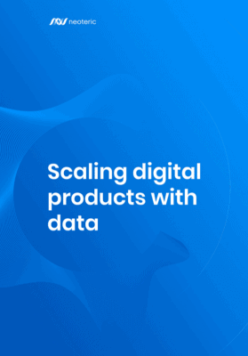 Scaling digital poducts with data