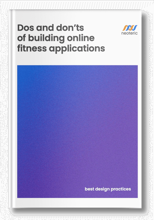 Dos and don'ts of building online fitness applications: best design practices