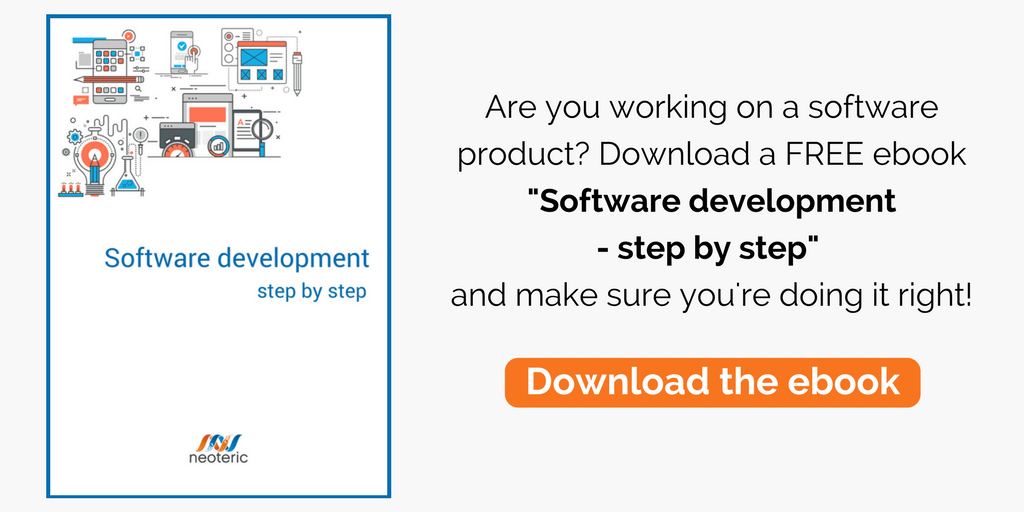 Are you working on a software product? Download a FREE ebook