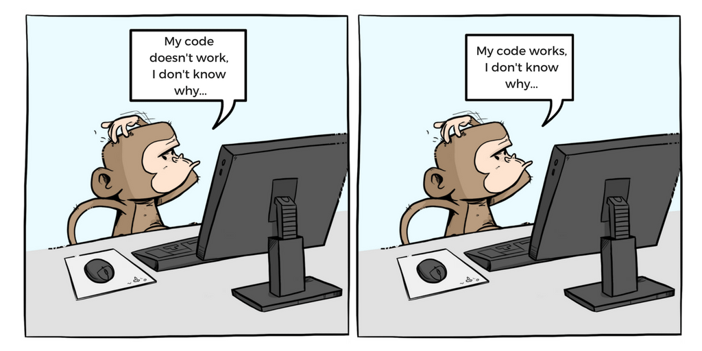 Code Monkey: It doesn't work, I don't know why