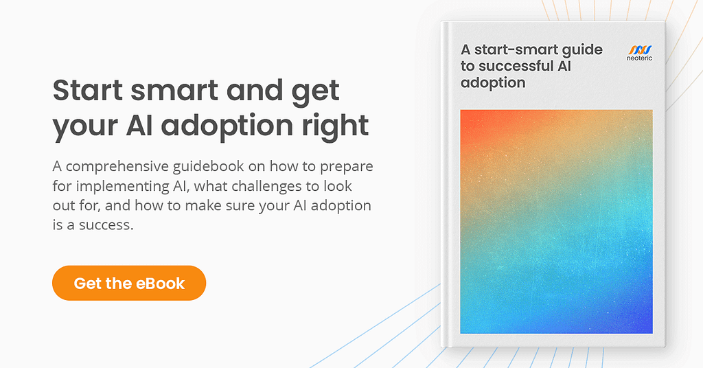 A start-smart guide to successful AI adoption