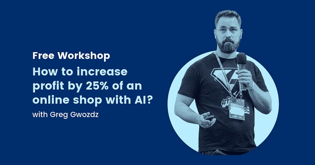 how to increase profit using AI - webinar