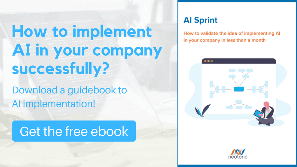How to implement AI in your company successfully?