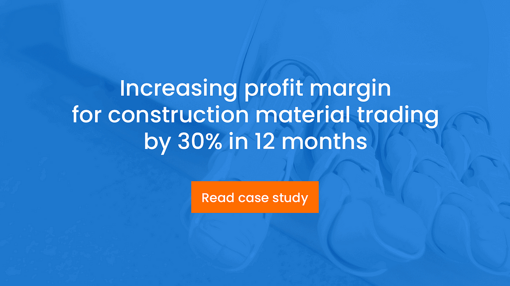 CTA: construction material trading case study