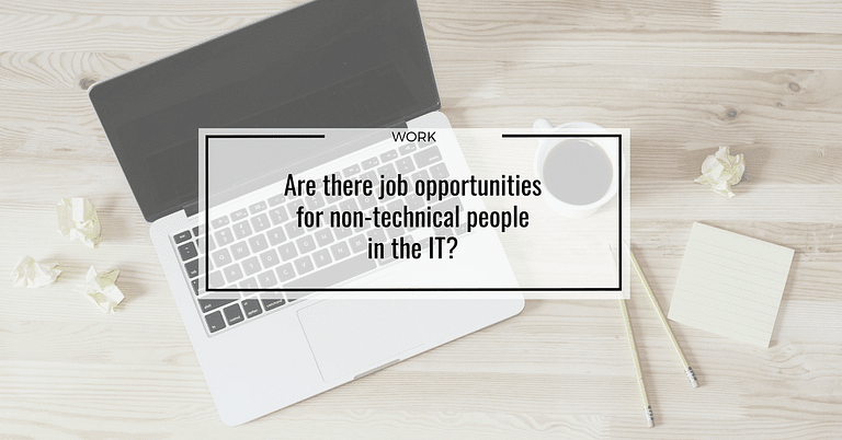 Are there job opportunities for non-technical people in the IT?