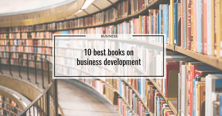 10 best books on business development